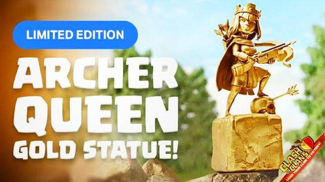 Clash of clans new STATUES!!!!!