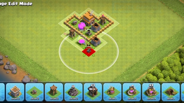 Town hall 4 base | Clash of Clans | Best TH 4 base