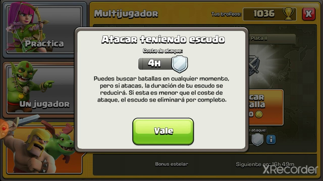 Ataque th5 en clash of clans!!