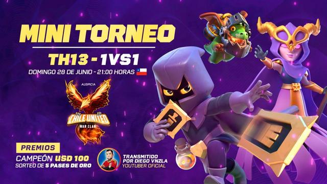 DIRECTO | TORNEO TH13 - 100$ PREMIO | Clash Of Clans | DiegoVnzlaYT