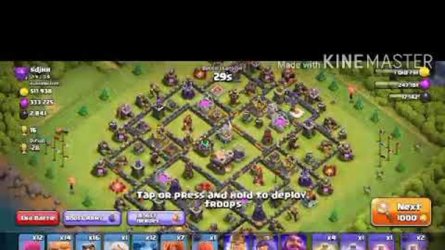 Clash of clan 0 trophy Attack || Coc 0 trophy