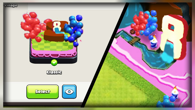 Clash of clans 8 Year Anniversary Scenery (CONCEPT) | New Scenery for 8th anniversary for coc