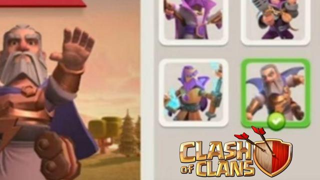 July Season Hero Skin Full Gameplay   Clash of clans   Gladiator Warden Skin