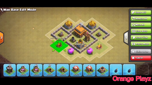 Best Town Hall 3 (TH3) War Base | Clash of Clans