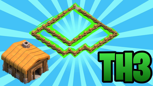 NEW BEST TOWN HALL 3(TH3) BASE DESIGN-CLASH OF CLANS