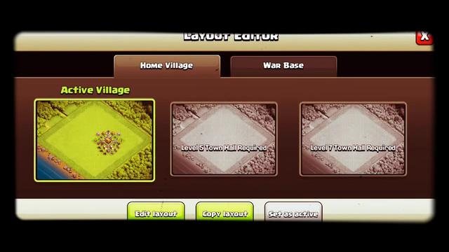 Clash of clans th3 troll Base v2