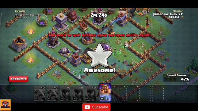 COC Builder Hall 7 | Best Attack | Attack on BH 7 | COC Attack Strategy | GOWAK | Clash Of Clans