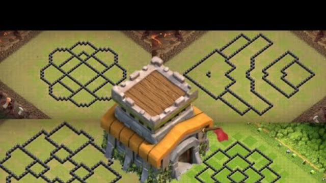 Townhall8 Base layout with link Clashofclans | Coc Th8 Base farming 2020