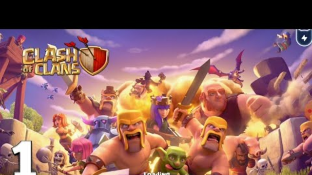 Clash of clans gameplay part 1