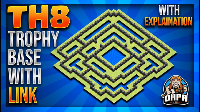 *NEW* INSANE Th8 LEGENDS LEAGUE/TROPHY PUSHING Base Design With Copy Link 2020 - Clash Of Clans
