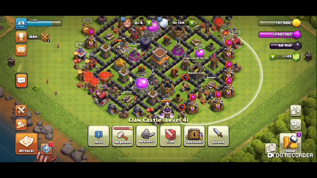 I Made A Clan Check It Out (Clash Of Clans)