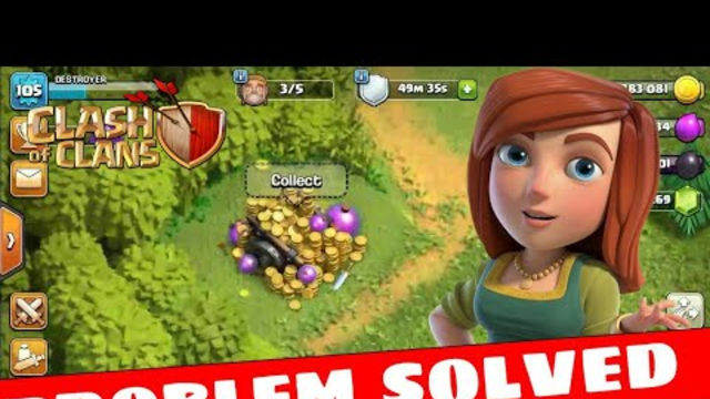 How To Collect Loot Cart In Clash Of Clans |BUG OR GLITCH| PROBLRM SOLVED || GAMING ON DESTROYER ||