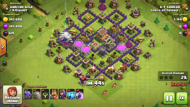 How to best attack in clash of clans #coc #attaack beast loot