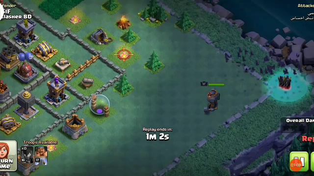 Night Witch attack(RIP) | coc | clash of clans