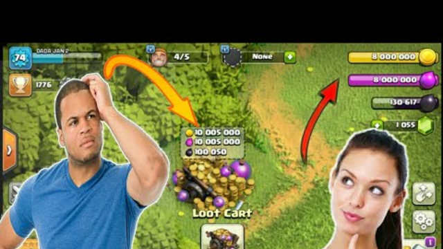 I open my clash of clans account after long time | coc troll base l Ahmad Gaming YT | best of 2020