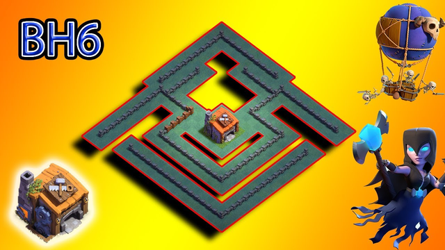 NEW Best! Builder Hall 6 (BH 6) Base 2020 Design with Copy Link | Clash of Clans