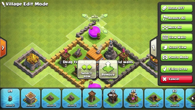 How to make a th5 base - clash of clans