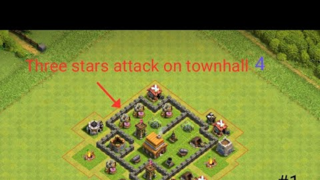 Best army for Townhall 4 -Clash of clans