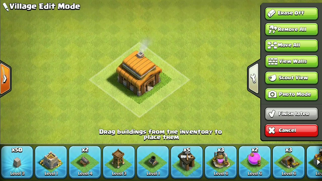 Clash of clans base Th 3// I will make more videos on coc bases//Please like my video.