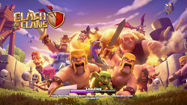 I restarted clash of clans! TH 5 gameplay