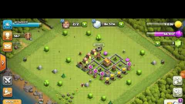 Clash of clans town hall 4to5 Arman GAMER