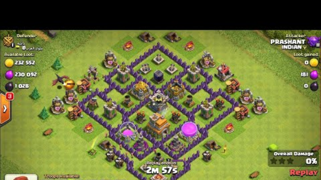 Clash of clans best attack ever on town hall 7