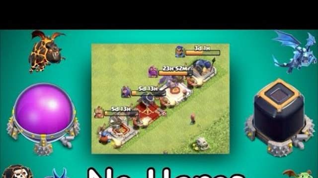 Th12/13 Farming (No Heros) Elixer & Dark Elixer | Clash of Clans