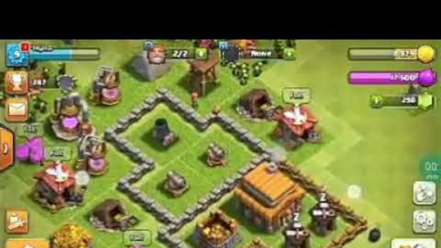 clash of clans town hall 6 ride