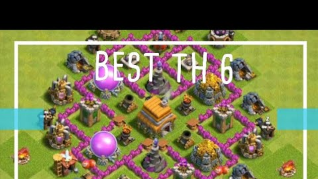 Best th 6 trophy | Clash of clans