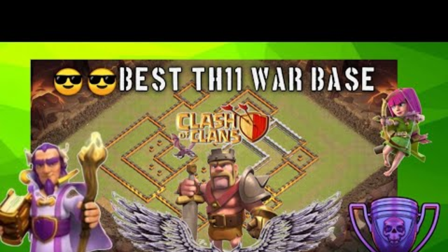 BEST WAR BASE FOR TH11 | CLASH OF CLANS GAMEPLAY