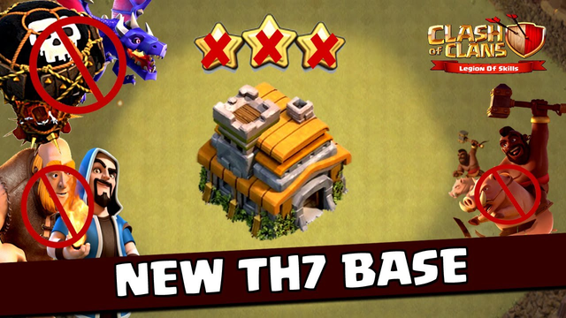 New BEAST TH7 WAR/TROPHY[defense] Base 2020!! Town Hall 7 Hybrid Base Design - Clash of Clans