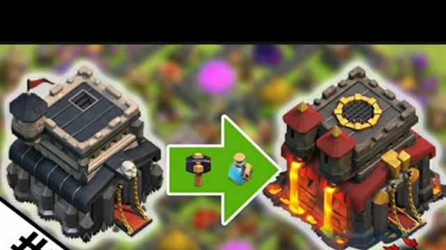Townhall 9 to 10 | Boosted up everything | Used magic items | Clash Of Clans | Supercell