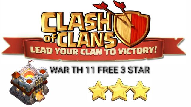 WAR TH 11 REMUK DAN HANCUR BERKEPING2 CLASH OF CLANS