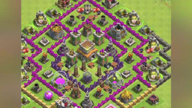 Best Clash of Clans Base for Th8
