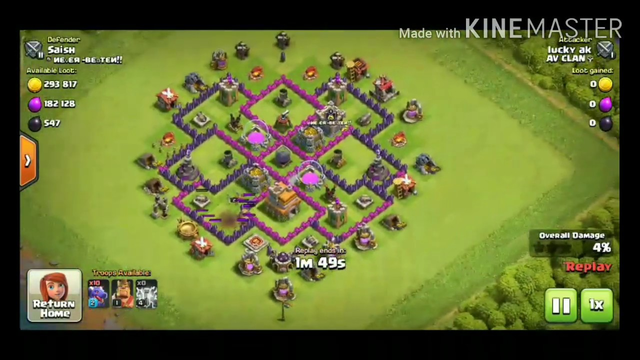 CLASH OF CLANS TOWN HALL 7 ATTACK STRATEGY