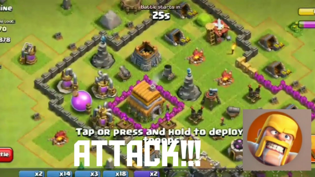 TAKING LOOT FORM ANOTHER BASE | TOWN HALL 6 | CLASH OF CLANS