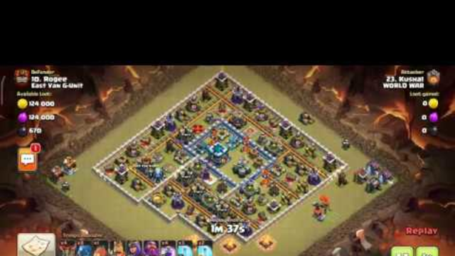 CLAN WAR LEAGUE JULY SESSION IN CLASH OF CLANS    WORLD WAR VS EAST VAN G-UNIT    DAY 1 PART 2