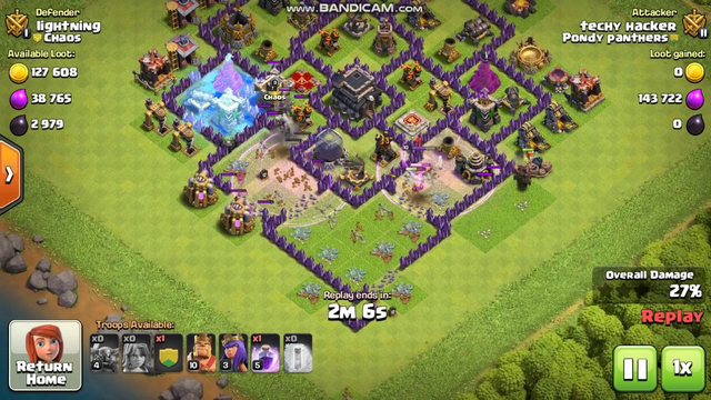 """The """"THANK GOD""""  war ever I have attacked in  Clash of clans"""