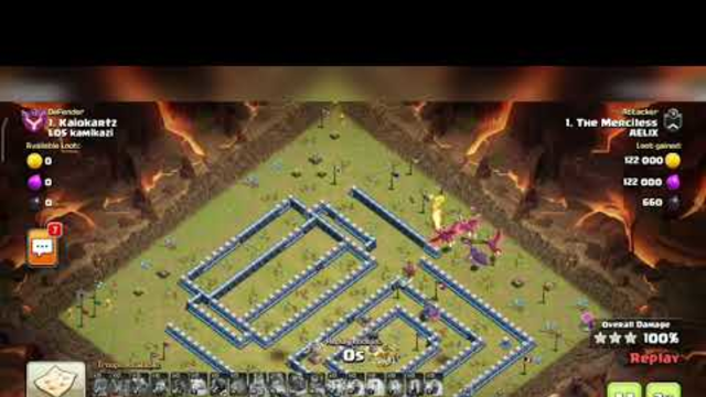 3 STAR  TH 13 BASE ( CWL ATTACKS) | CLASH OF CLANS |