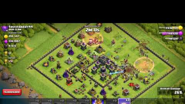 3 star attack strategy for home base. Clash of clans.