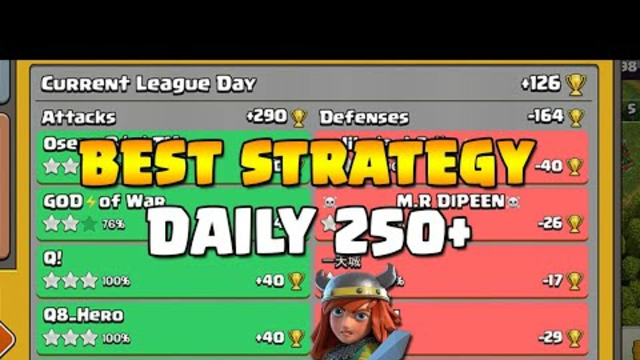 Th13 Best strategy! | Live attacks | Everyday 250+ minimum # Clash of clans