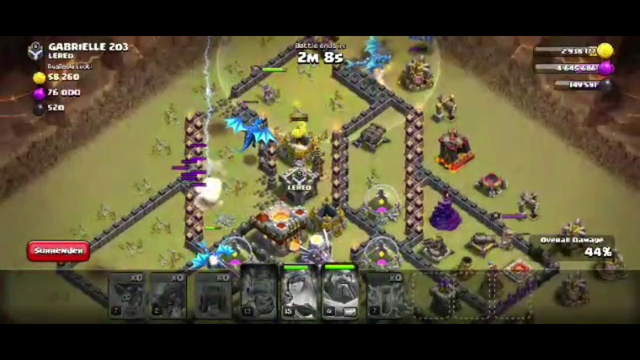 How to do electric dragon attack in town hall 12 in clash of clans tamil