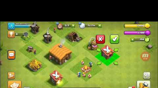 New Clash of Clans Base (Clash of Clans Episode 1)
