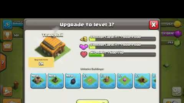 Town hall 3 - 500 trophies | clash of clans