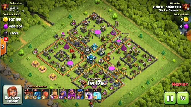 Mr.sain becomes most heroic attacker in cwl | sixth sense clan | clash of clans