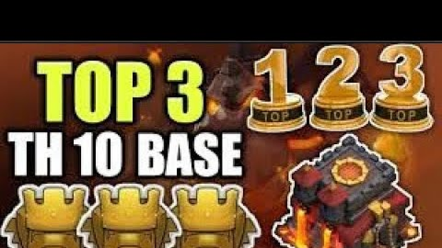 New Best! TH10 TOP 10 HYBRID BASE||CLASH OF CLANS/ CLASH WITH SUBASISH
