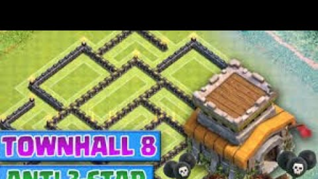 NEW ULTIMATE 2020 TOWN HALL 8 TROPHY BASE II CLASH PF CLANS II CLASHING WITH KRISH!!