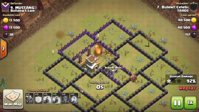 Clash of clans  TH8 HYBRID Troll Base   Best Protect 100  Dark Elixir   Trophies