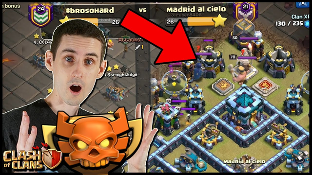 It's TRAPPED! Must Be Careful in the CWL! | Clash of Clans