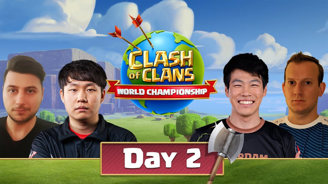 World Championship #2 Qualifier Day 2 - Clash Of Clans